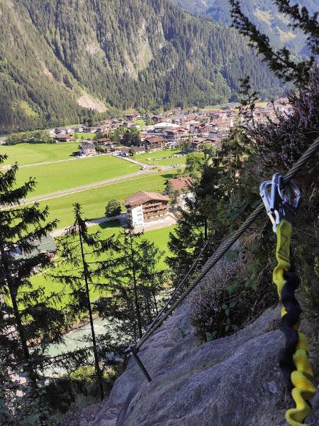 Huterlaner Klettersteig Mayrhofen