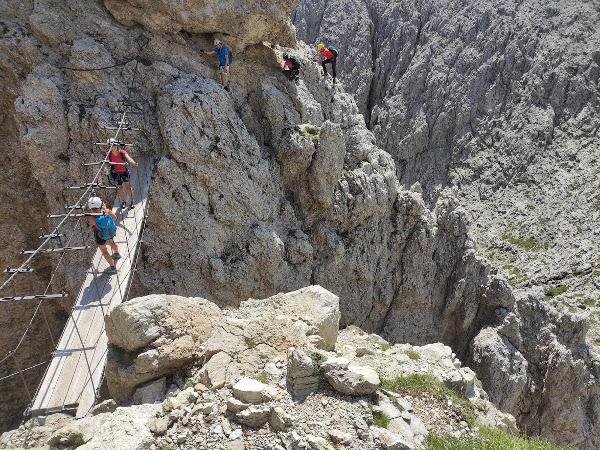 Tridentina Pisciadu Klettersteig
